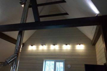Установка и подключение люстр, светильников